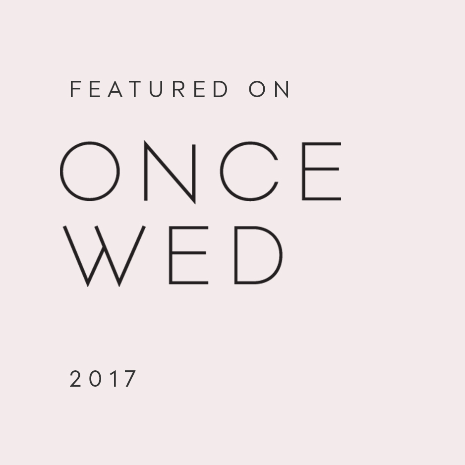 Featured on Once Wed
