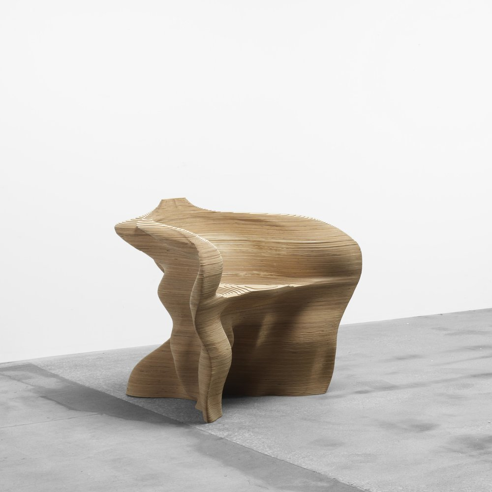 Mathias Bengstsson Slice Armchair, George Kravis Collection