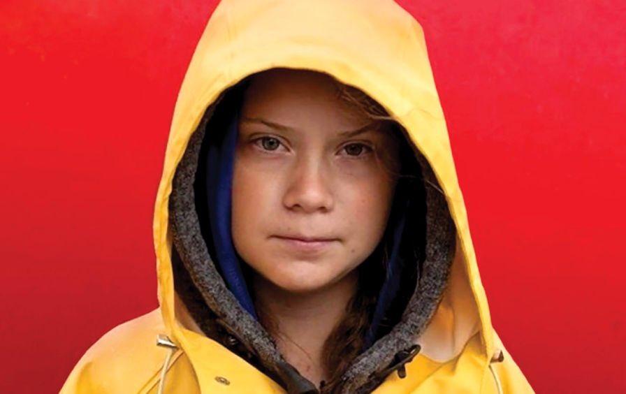 Greta Thuberg. Photo credit: Anders Hellberg