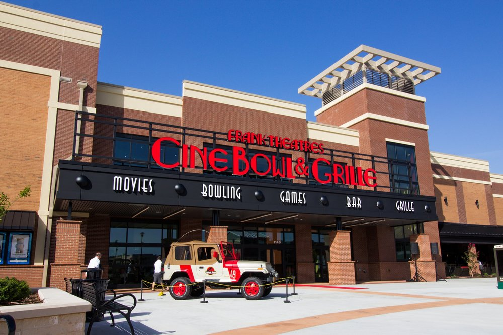 Frank Theatres CineBowl & Grille Cary, NC