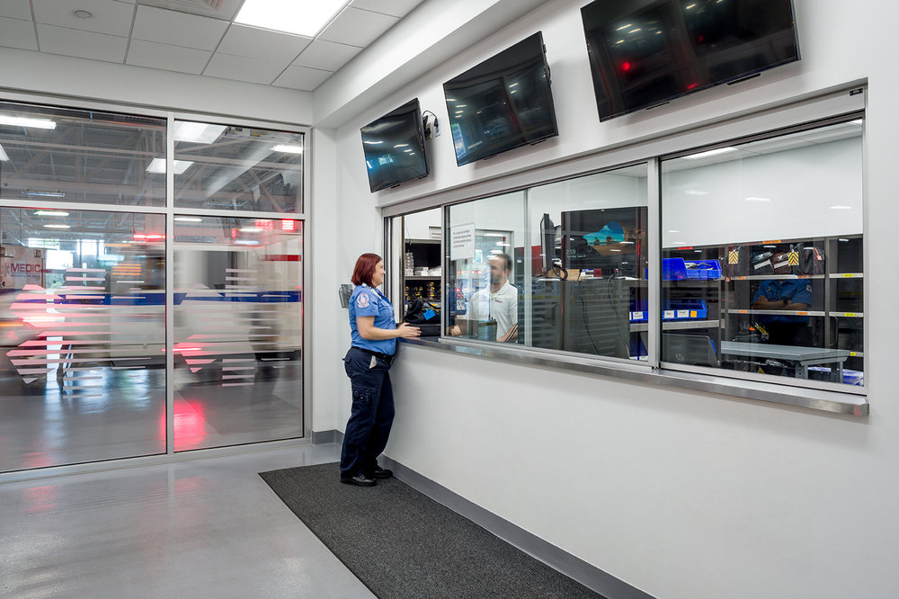 ADW-Public-Safety-MEDIC-Headquarters-Charlotte-NC-Check-out screens.jpg