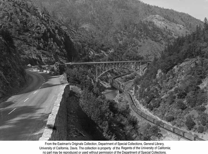 1953, Pulga Bridge, Feather River Canyon.jpg