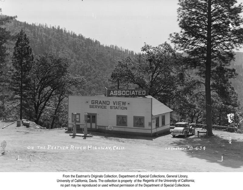 1938, Grand View Service Station, above the Feather River Canyon.jpg