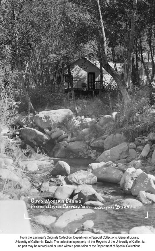 1940, Guy's Modern Cabins, Feather River Canyon...jpg