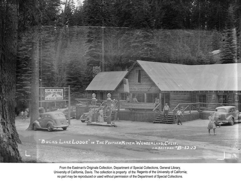 1941, Bucks Lake Lodge in the Feather River Wonderland.jpg