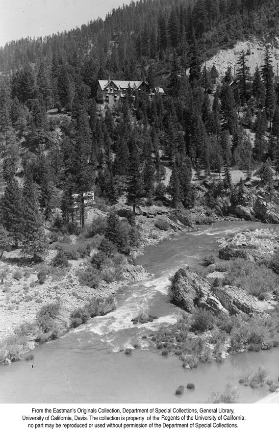 1941, Paxton Lodge, Keddie above the Feather River.jpg