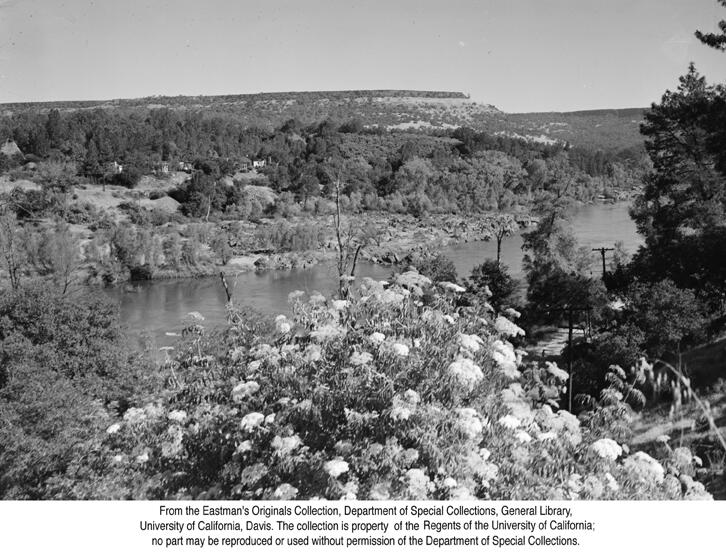 1946,Table Mountain looking over the Feather River.jpg