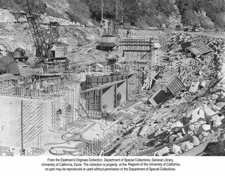1948, P. G. & E. Construction, Feather River Canyon.jpg