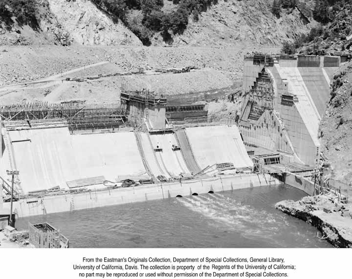 1949, P. G. & E Construction, Feather River Canyon.jpg