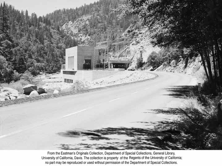 1951, Powerhouse in the Feather River Canyon .jpg