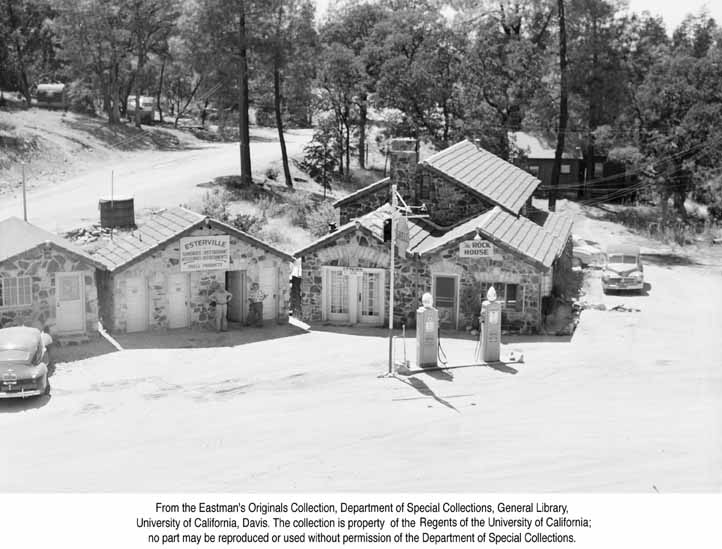 1955, The Rock House at Jarbo Gap.jpg