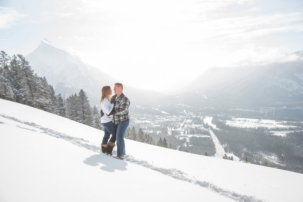 banff-mountain-engagement-photography