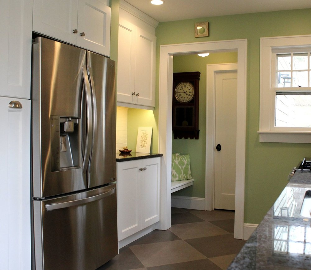 So in love -- with our mudroom!
