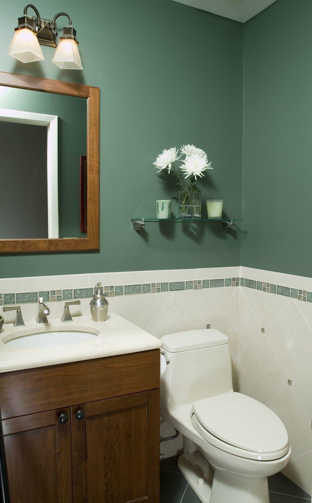 Powder room renovation