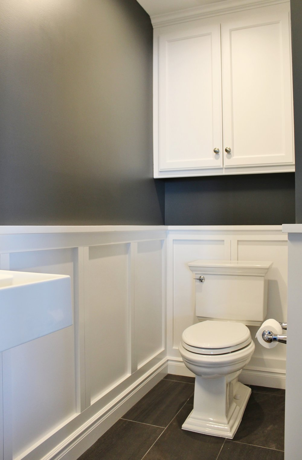 Small Powder Room with a Big impact