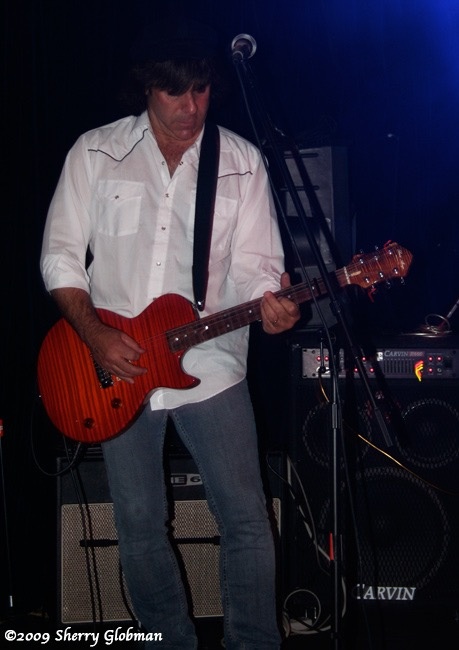 Don Sachs with custom guitar