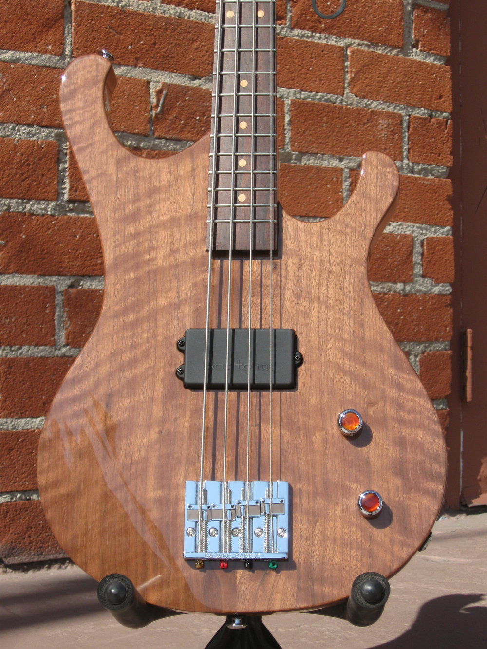 California 32 with figured walnut drop top