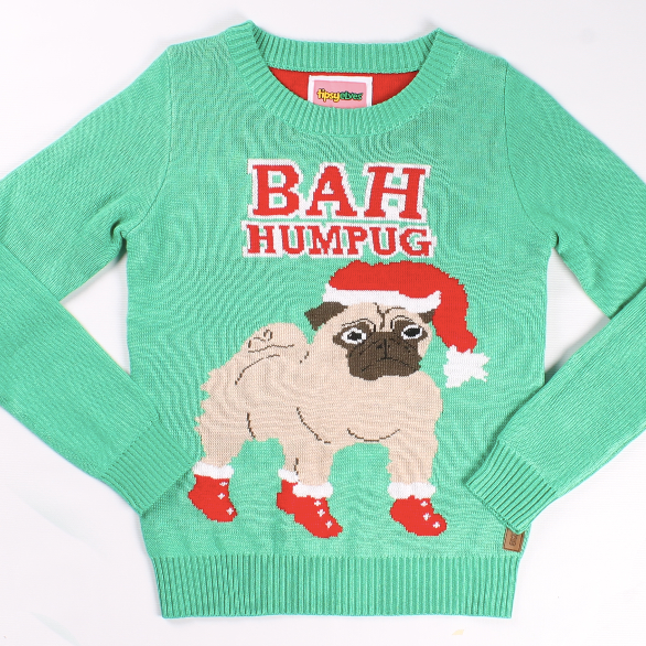 For the dog lover:Do you love your dog more than you love most (okay, all) humans? You're not alone. This holiday sweater just gets you and your #priorities.