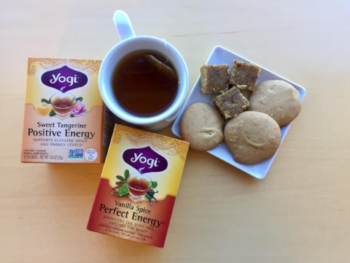 Teas: We're spilling the Tea - No coffee, no problem! Change up your routine and try drinking more Green, Black, Oolong, chamomile, and ginger teas to warm up this season while reaping its natural benefits of increasing metabolism, healthy digestion, and antioxidants.  Check out Yogi teas and their wide selection of tasty teas: https://www.yogiproducts.com/