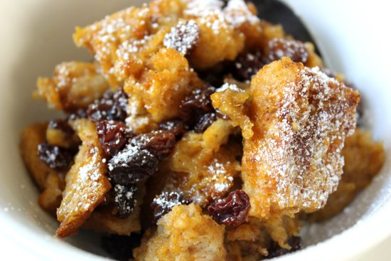 Dairy-Free and Vegan? Yaaaaas!  This  Pumpkin Bread Pudding  dessert will have you feeling festive AF this holiday season.      Get this recipe from POPSUGAR