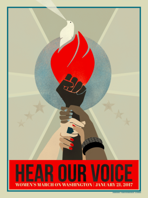 Check out more art for the Women's March.