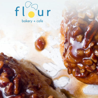 Flour Bakery You can't shop forever -- and Flour Bakery's boss b*tch Joanne Chang is worth your time. This sticky bun kween is a former management consultant with a degree in applied math -- who's so top notch that she trounced Food Network's Bobby Flay in a face off.