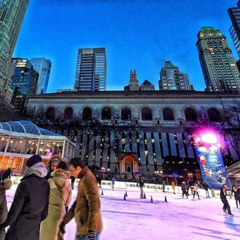 Bryant Park - Hurricanes and etouffees not your thing? Head to the rink in Winter Village, where they're turning the ice purple, green and gold and blasting the best New Orleans jazz for the holiday.