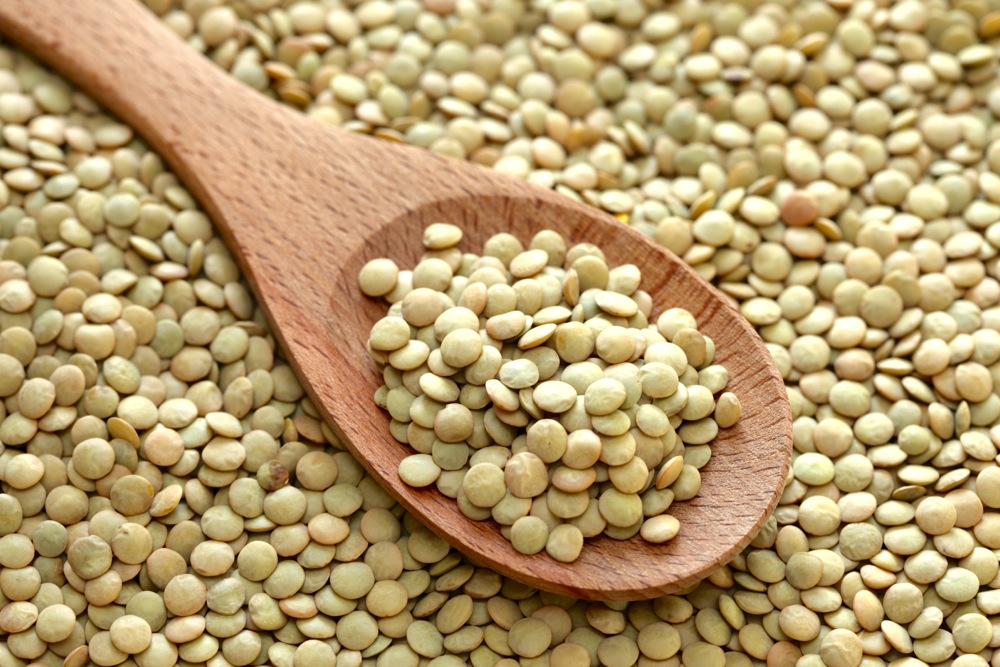 Lentils Probably the most underrated food in my opinion, lentils kill the nutrition game so you should start eating them weekly! One-half cup of cooked lentils provide half of your daily folate needs (essential for women of childbearing age!), one-third of your daily fiber needs (to help, ahem, move things along) and 20 percent of your daily iron needs (especially essential around that time of the month…). Plus, they're a good source of plant-based protein with 9 grams per one-half cup! Not sure how to prepare 'em? Follow this tutorial or rinse off the steamed pre-packaged lentils you can find in the refrigerator section of every supermarket and then make some delicious lentil 'bolognese' in under 30 minutes!