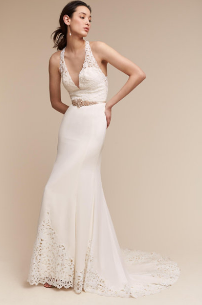 Ooohhh boyyyy. Check out this halter from BHLDN.