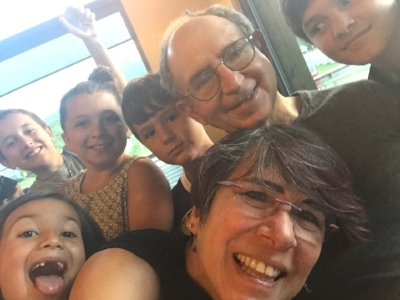 #SelfieGameStrong: Magda with her hubbie and some of their grandkids. It's been quite a ride!