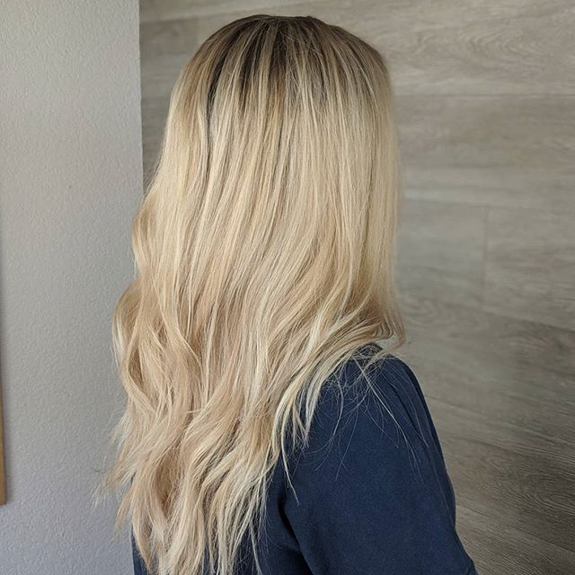 After // Swipe for Before Sometimes it's not about the correcting color, sometimes it's just about putting a little more light in someone's life. 😘  I'm loving all the honey blondes I've been able to do lately! Such a timeless color - let's bring it back! . . . . #hair #hairartist #haircolor #blonde #blondelife #blondebalayage #honey #honeyblonde #haircolormagic #selfies #clientselfie #hairmakeover #hairlove #barberlove #colorado #coloradosalon #coloradohairstylists #coloradosbest #greeley #greeleysbest #greeleyhairstylist #greeleyartist @greeleylocal @joico #feelthejoi #ipainthair