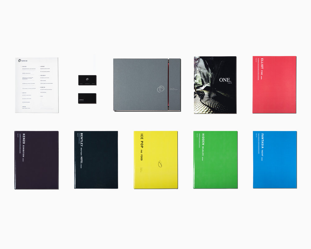 Portfolio book collection