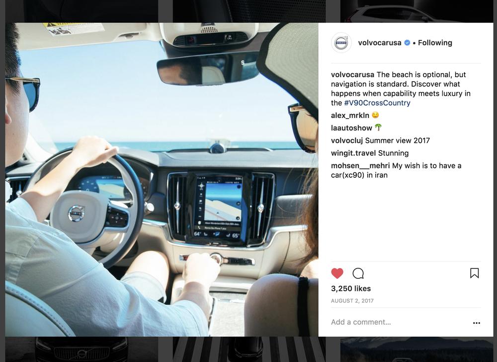 Volvo lifestyle photoshoot 2