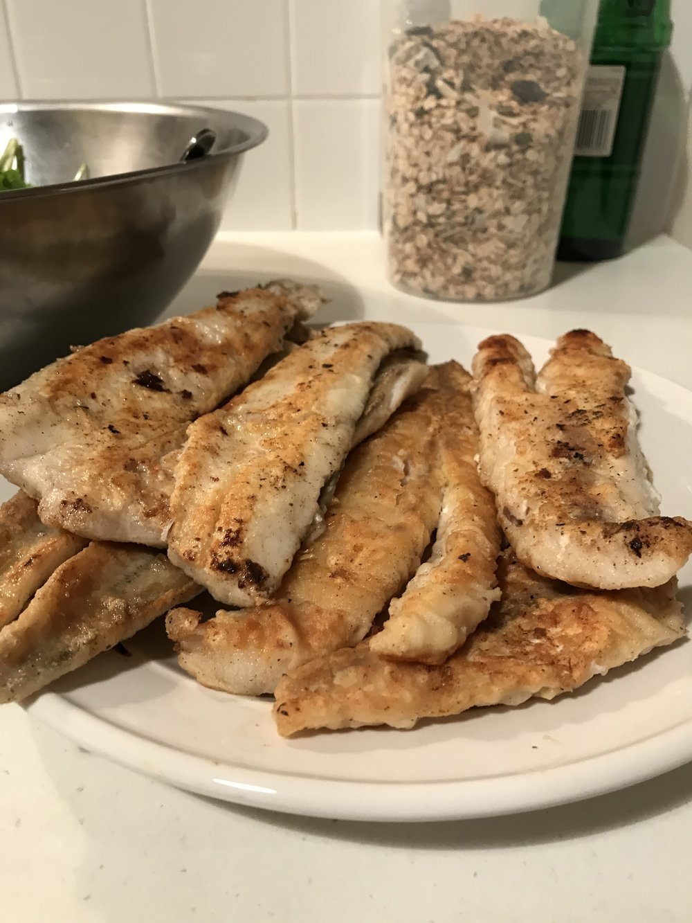 King George Whiting and Flathead from the Spencer Gulf  (B A Fisheries, Stansbury)