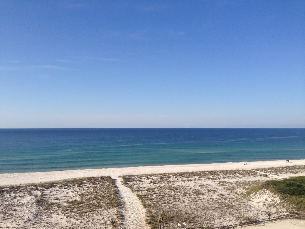 Pensacola Beach. My Deep Green (and blue and white) home.