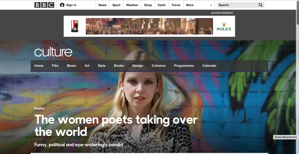 Women Poets Taking Over The World