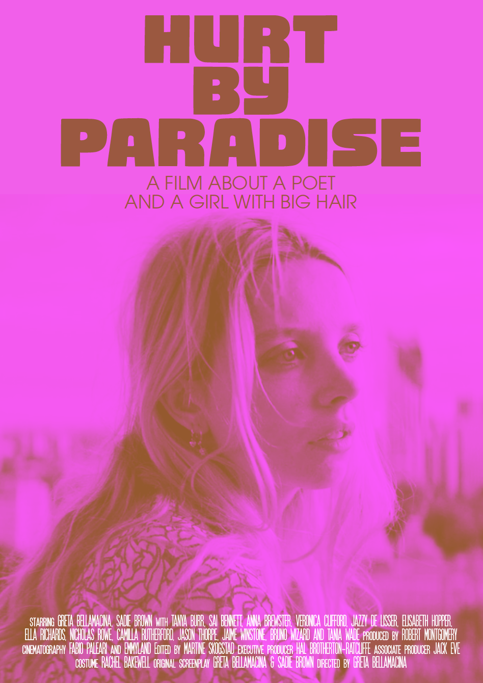 First look at the film posters for Hurt By Paradise….coming soon