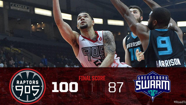 Courtesy: Raptors 905 Twitter