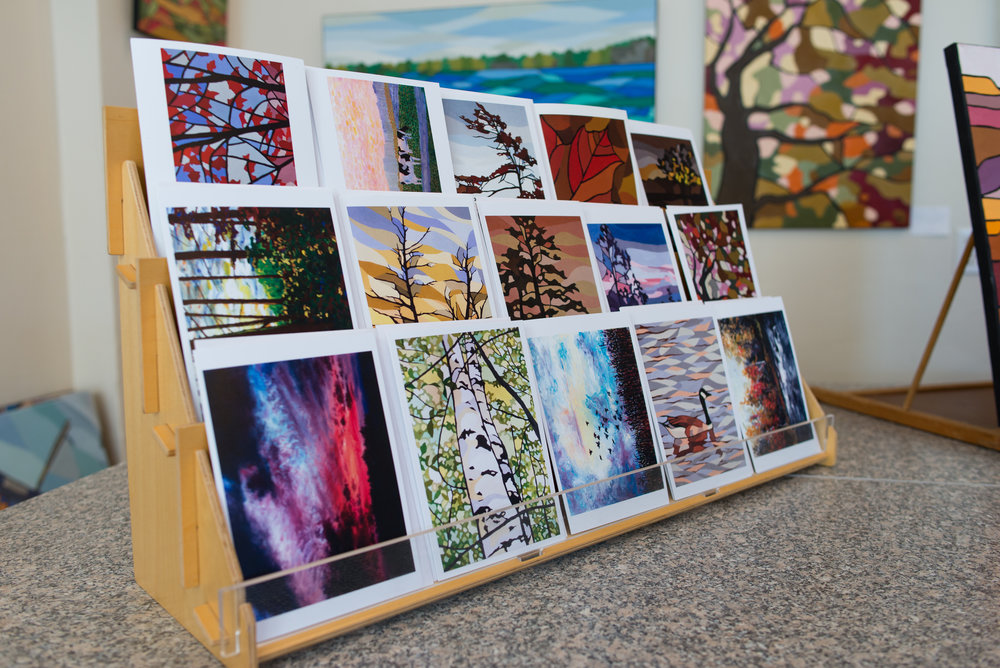 The Beach Canadian Landscape Greeting Cards