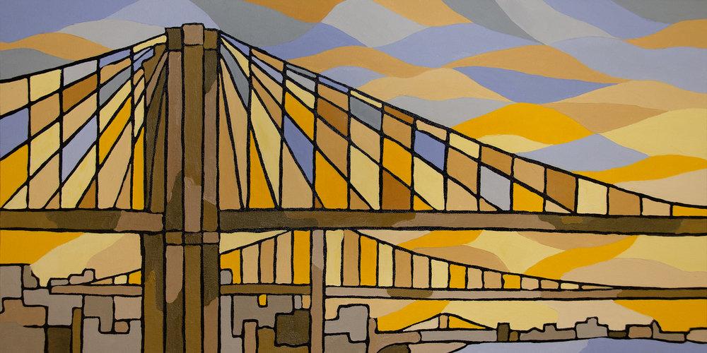 Brooklyn Bridge Canvas Art Prints