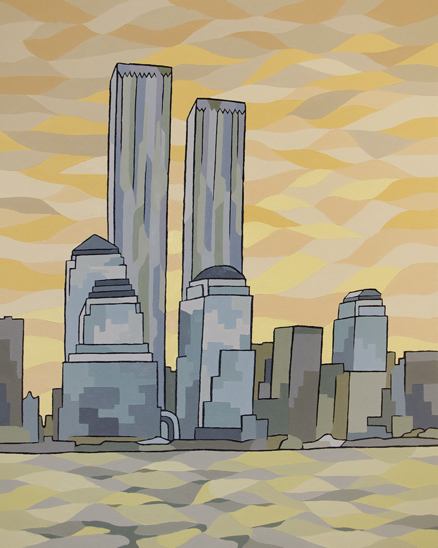 Twin Towers Canvas Art Prints