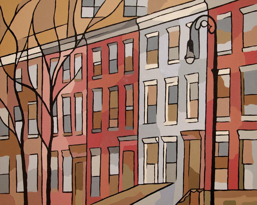 Lower East Side Canvas Art Prints