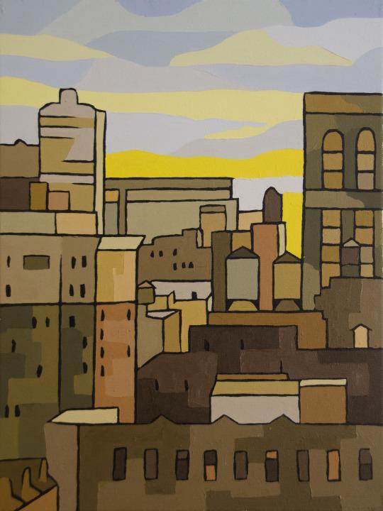 Midtown New York Canvas Art Painting