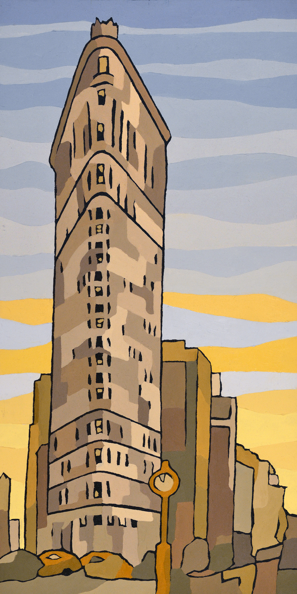 Flatiron Building New York Canvas Art Prints
