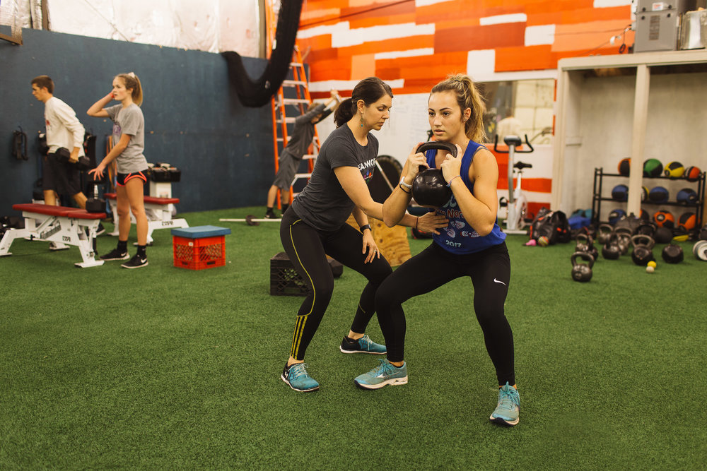 Erin Parks, the author, trains and coaches developing youth into their athletic potential. Her inspiration comes from the young and not old working every day to achieve their best selves.