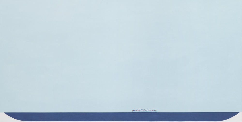 - Breaking Cover2017Oil and acrylic on canvas48 x 100 inches