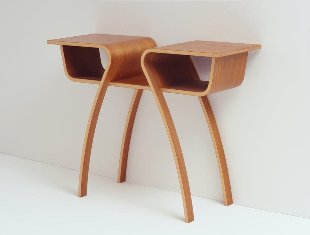 - Marilyn Side Tablec. 2012Oak8 1/2 x 13 inches