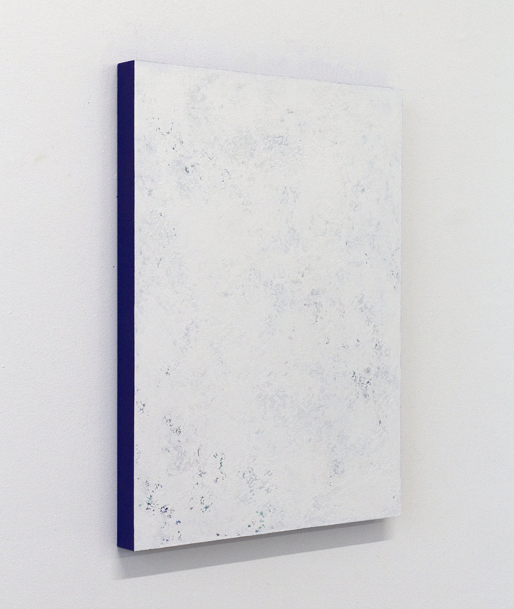 - Untitled (White Painting 18-02)2018Acrylic on panel24 x 18 inches