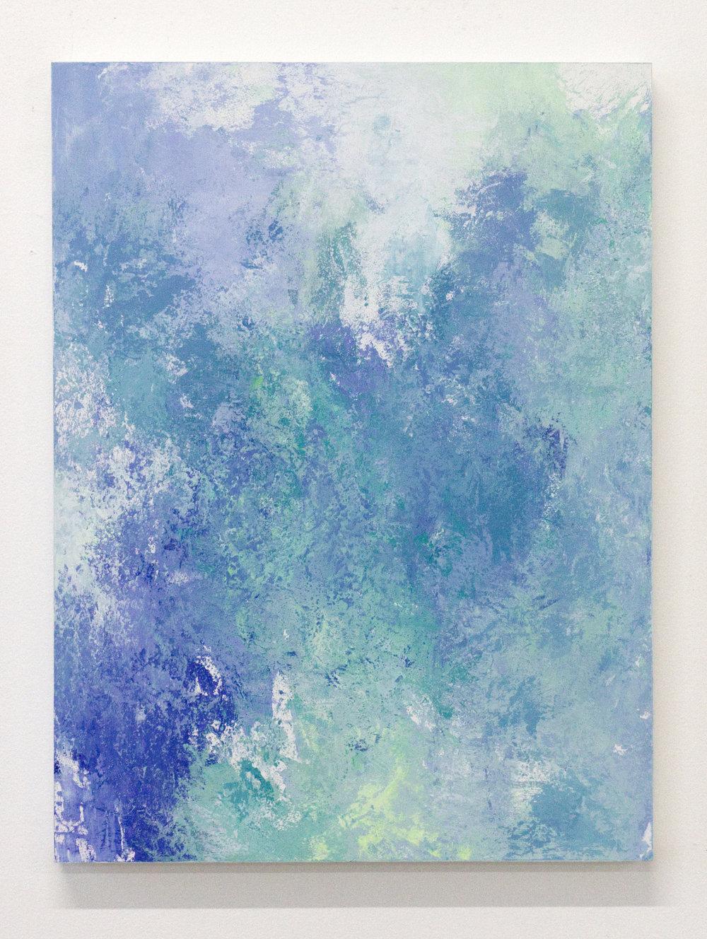 - Exterior Boundaries II2018Acrylic on panel24 x 18 inches