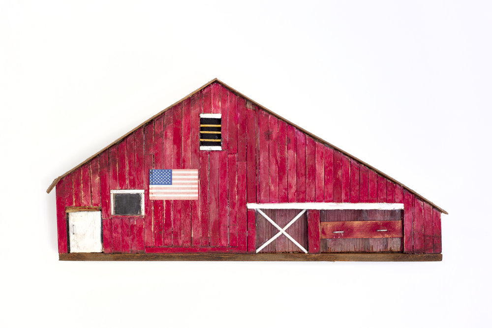 - Red Barn2013Wood and mixed media8 x 17 x 1 ½ inches